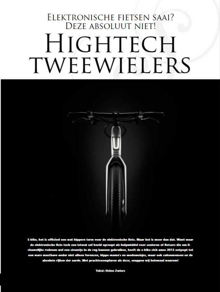 Artikel hightech tweewielers