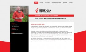Websiteteksten Henk Jan van der Vaart