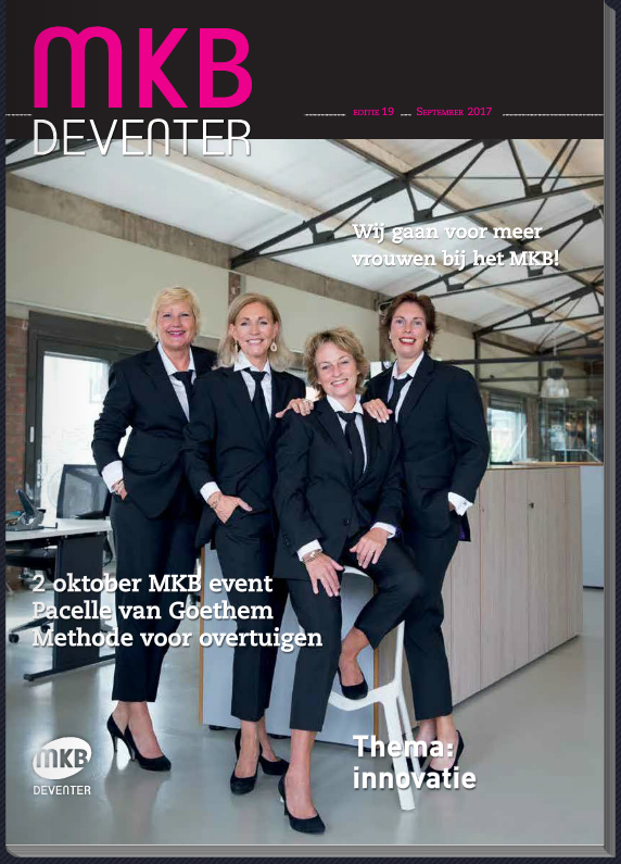 MKB Deventer magazine cover